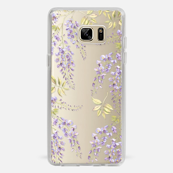 Galaxy Note 7 Case - Wisteria blossom