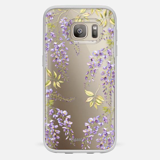 Galaxy S7 Case - Wisteria blossom