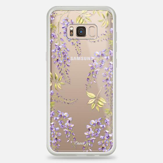 Galaxy S8+ Case - Wisteria blossom