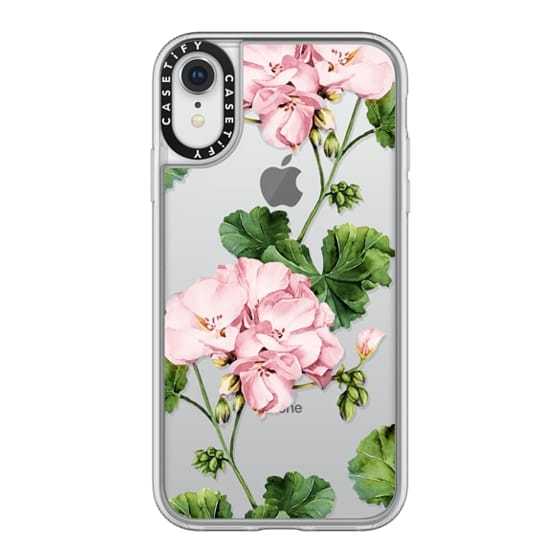 iPhone XR Cases - Geranium