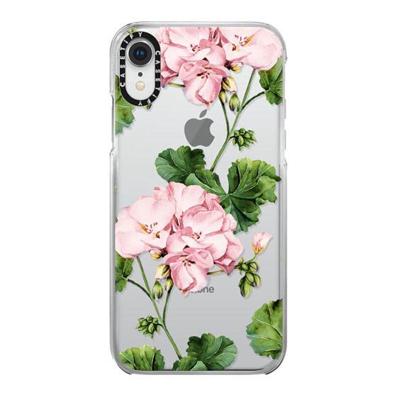 iPhone XR Cases - Geranium