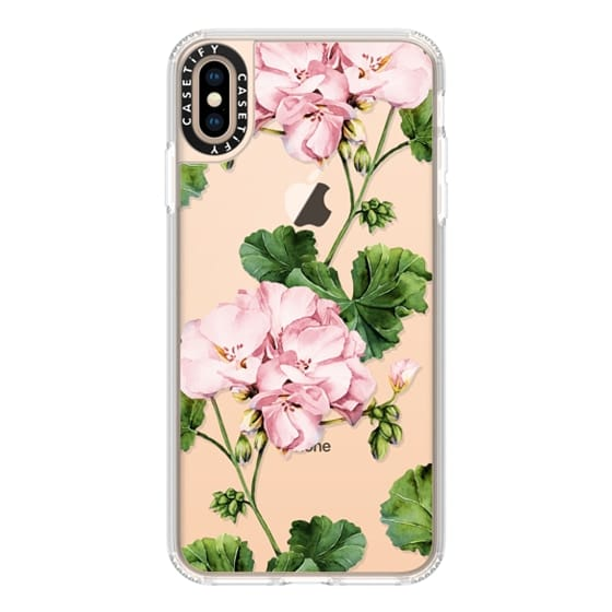 iPhone XS Max Cases - Geranium