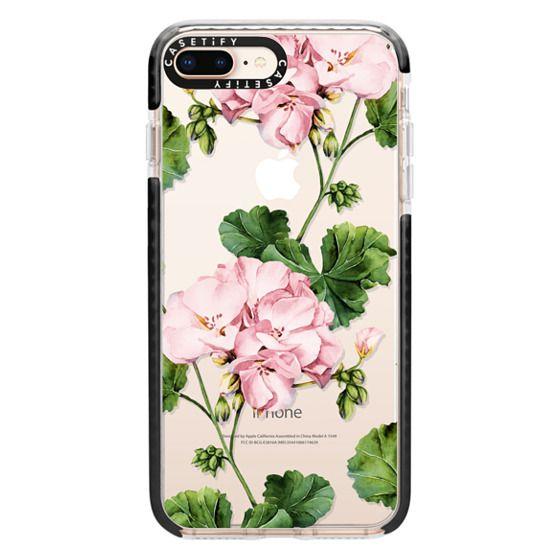iPhone 8 Plus Cases - Geranium