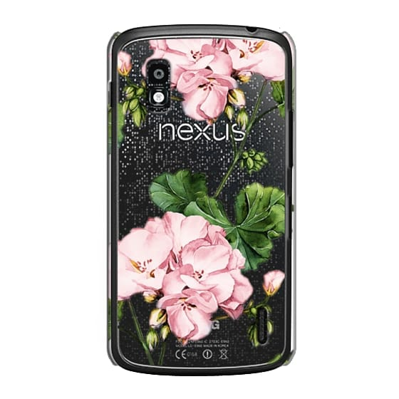 Nexus 4 Cases - Geranium