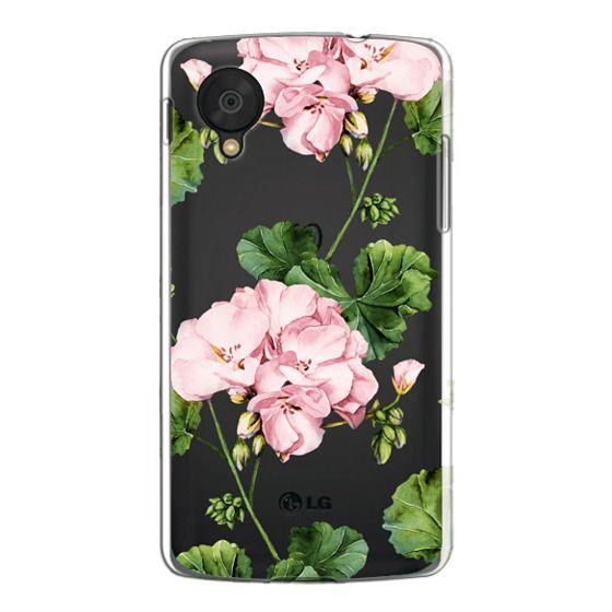 Nexus 5 Cases - Geranium