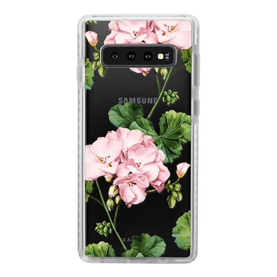 Samsung Galaxy S10 Cases - Geranium