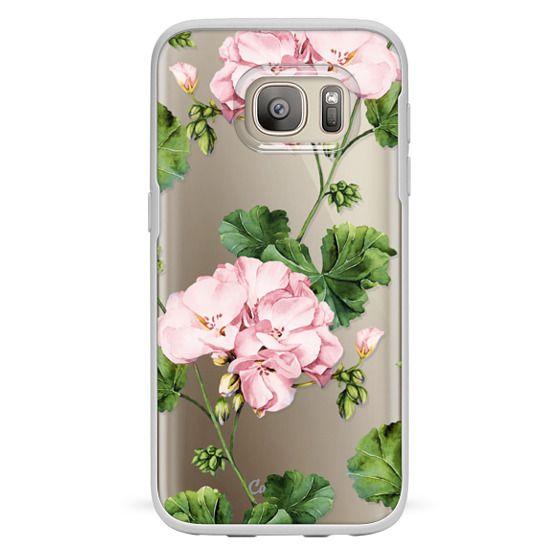 Samsung Galaxy S7 Cases - Geranium