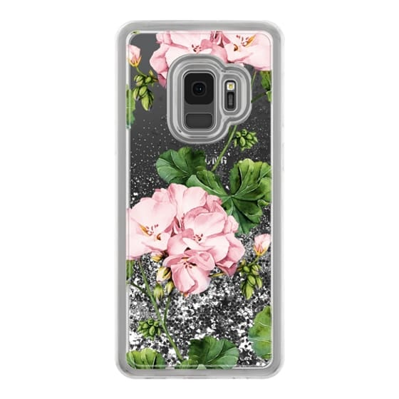 Samsung Galaxy S9 Cases - Geranium