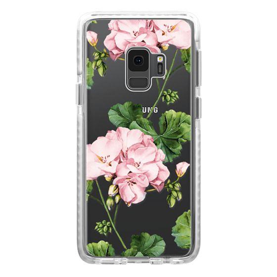 Samsung Galaxy S9 Cases - Geranium