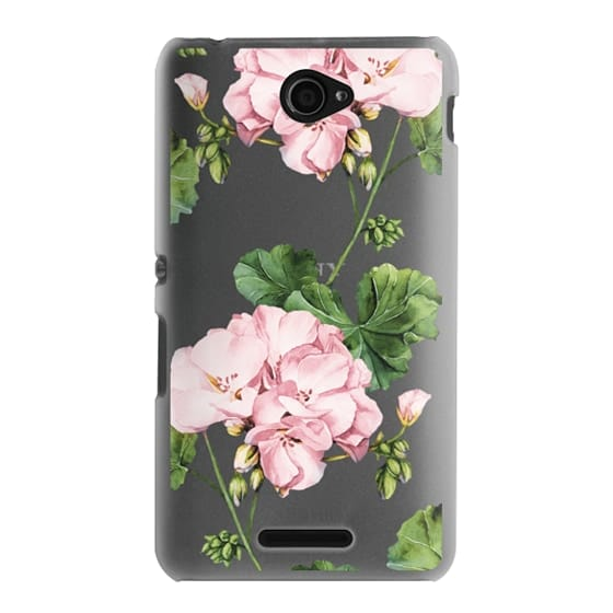 Sony E4 Cases - Geranium