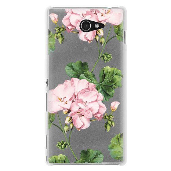 Sony M2 Cases - Geranium