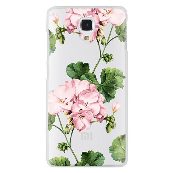Xiaomi 4 Cases - Geranium