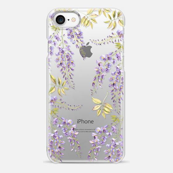 iPhone 7 Coque - Wisteria blossom