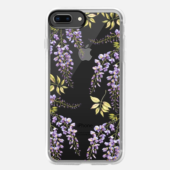iPhone 8 Plus Case - Wisteria blossom