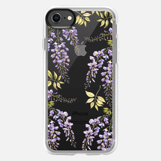 iPhone 8 Case - Wisteria blossom