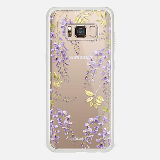 Galaxy S8 Funda - Wisteria blossom