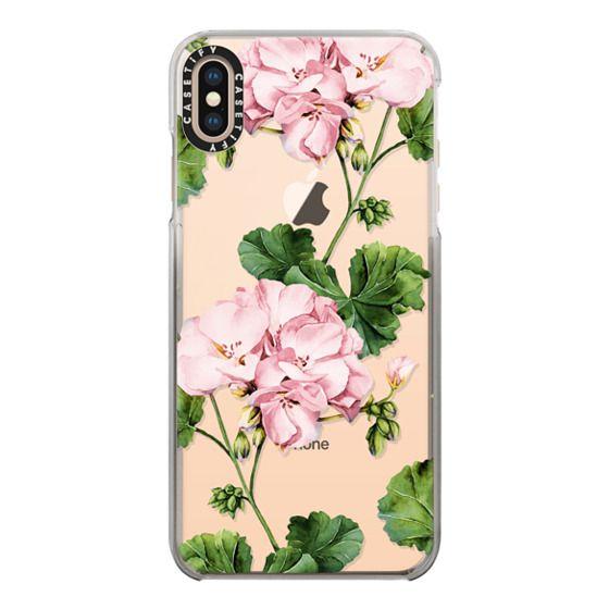 iPhone XS Max Cases - Geranium