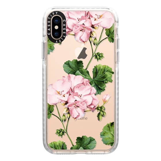 iPhone XS Cases - Geranium
