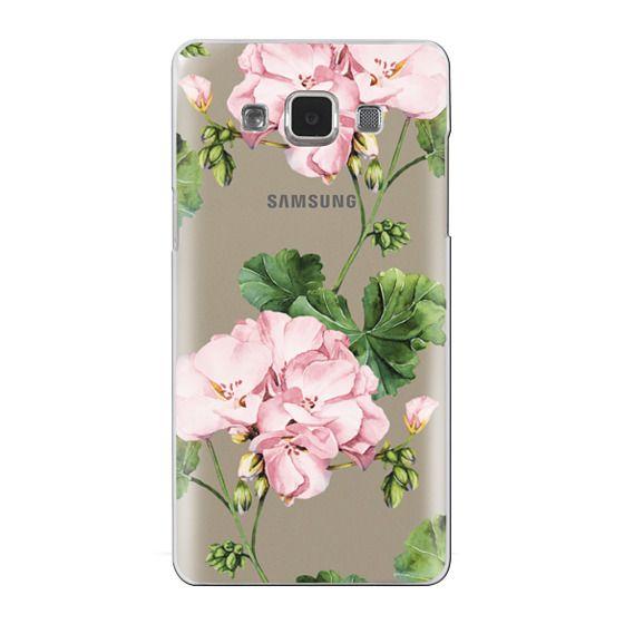 Samsung Galaxy A5 Cases - Geranium