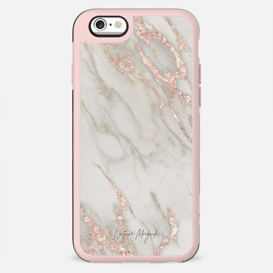 Rose Gold Marble 2 by Nature Magick - New Standard Case
