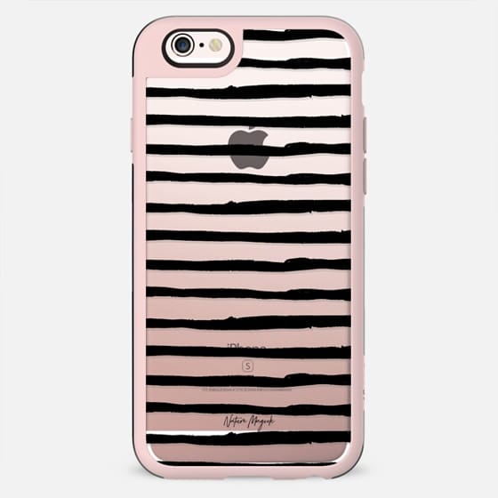 Simple Stripe by Nature Magick - Black + Clear - New Standard Case