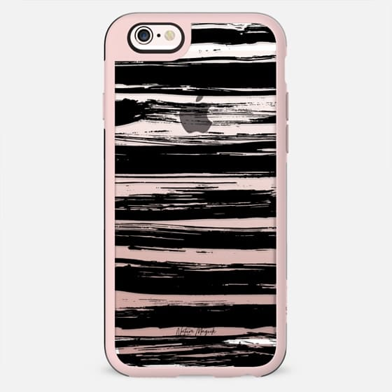 Modern Stripes by Nature Magick - Black + Clear - New Standard Case