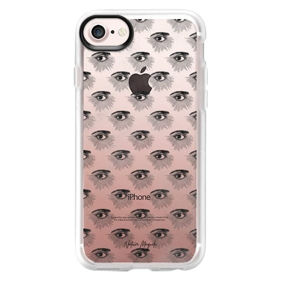 iPhone 6s Cases - Third Eye by Nature Magick - Black + Clear