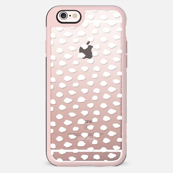 City Dots 2 by Nature Magick - White + Clear - New Standard Case