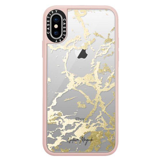 Kintsugi - Gold Rose iphone 11 case