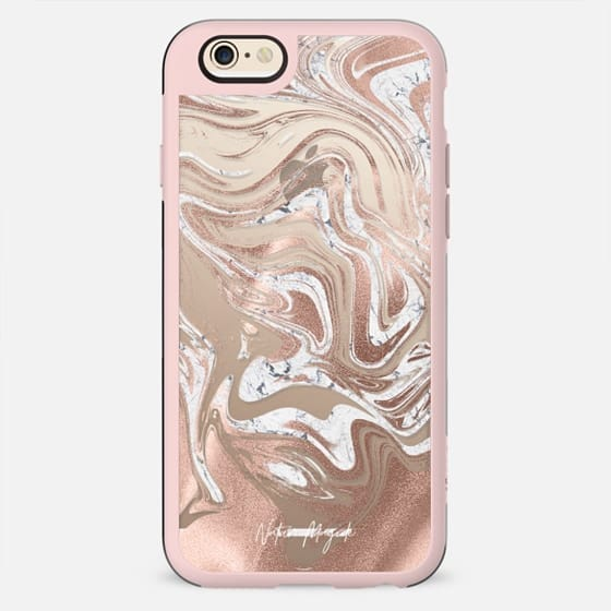 Rose Gold Marble Blush by Nature Magick - Marbled Pink Bronze