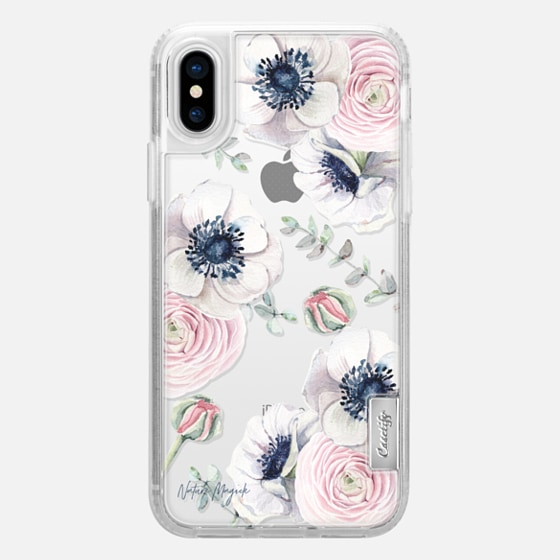 iPhone X เคส - Blossom Love by Nature Magick - Clear Case