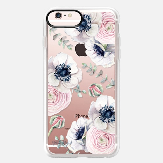 iPhone 6s Plus Case - Blossom Love by Nature Magick - Clear Case