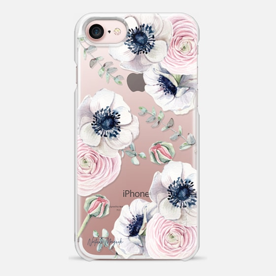 iPhone 7 Capa - Blossom Love by Nature Magick - Clear Case