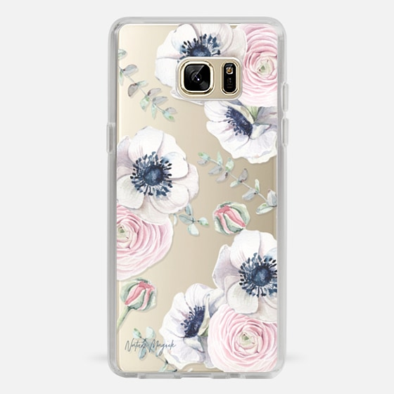 Galaxy Note 7 Capa - Blossom Love by Nature Magick - Clear Case