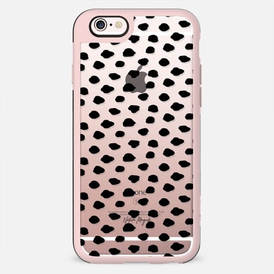 City Dots 2 by Nature Magick - Black + Clear - New Standard Case
