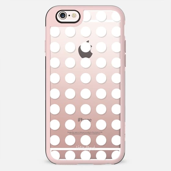 London Dot by Nature Magick - White + Clear - New Standard Case