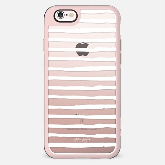 Simple Stripe by Nature Magick - White + Clear - New Standard Case