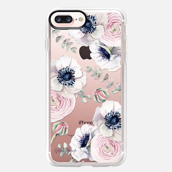 iPhone 7 Plus ケース - Blossom Love by Nature Magick - Clear Case