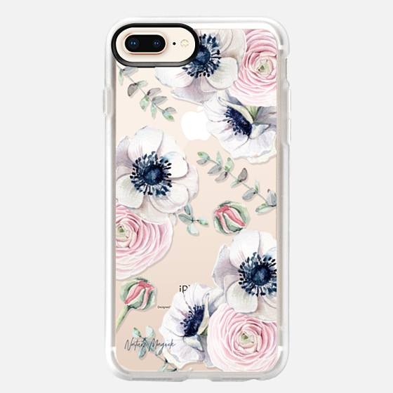 iPhone 8 Plus Funda - Blossom Love by Nature Magick - Clear Case