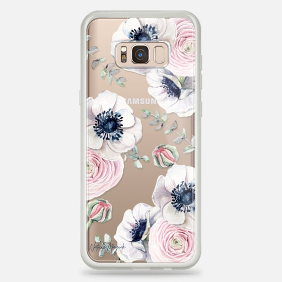 Galaxy S8+ Funda - Blossom Love by Nature Magick - Clear Case