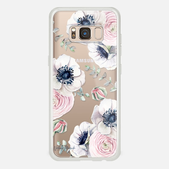 Galaxy S8 保護殼 - Blossom Love by Nature Magick - Clear Case
