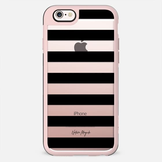 Simply Striped by Nature Magick - Black + Clear - New Standard Case