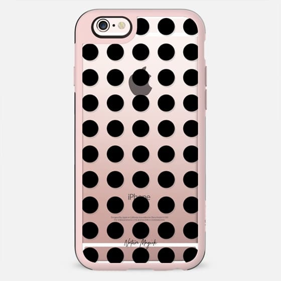 London Dot by Nature Magick - Black + Clear - New Standard Case