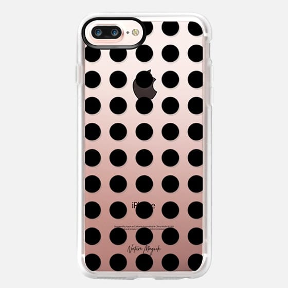 London Dot by Nature Magick - Black + Clear - Classic Grip Case