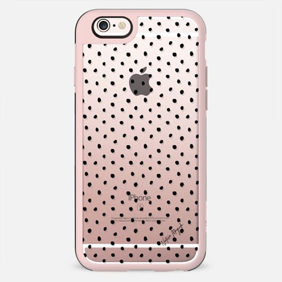 Perfect Polka Dot by Nature Magick - Black + Clear - New Standard Case