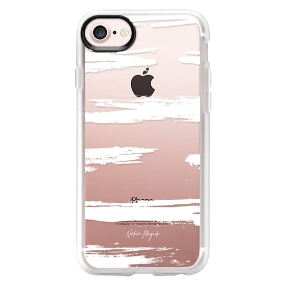 iPhone 6s Cases - Swept Away by Nature Magick - White + Clear
