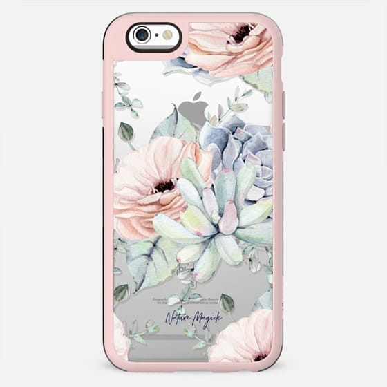 Pretty Succulents by Nature Magick - New Standard Case