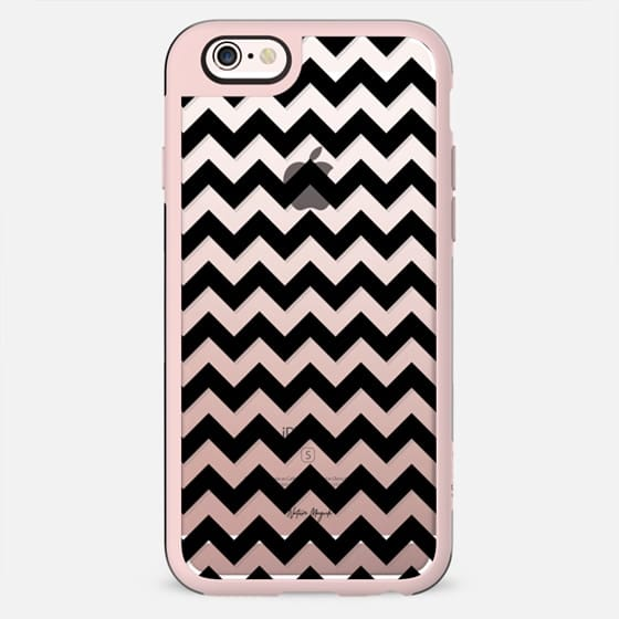 Chevron by Nature Magick - Black + Clear - New Standard Case