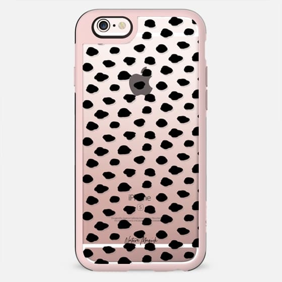 City Dots by Nature Magick - Black + Clear - New Standard Case