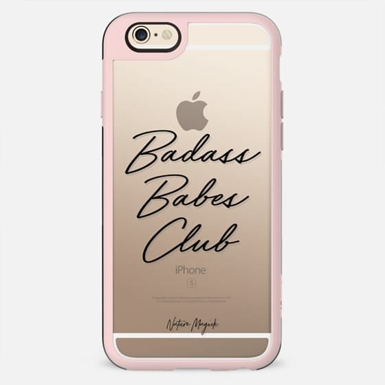 Badass Babes Club by Nature Magick - Black - New Standard Case
